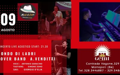 Mondo di Ladri – Cover Band A.Venditti